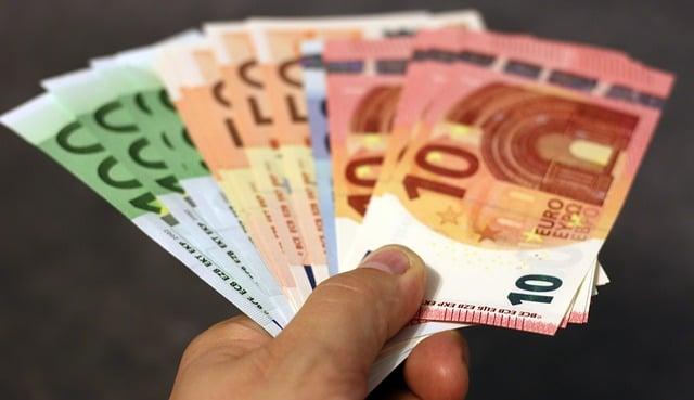 money, bank note, euro